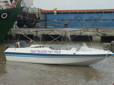 Ca nô chở khách 6m1 10-14 cho