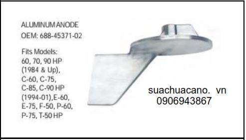 Bánh lái phụ cano 50-90HP