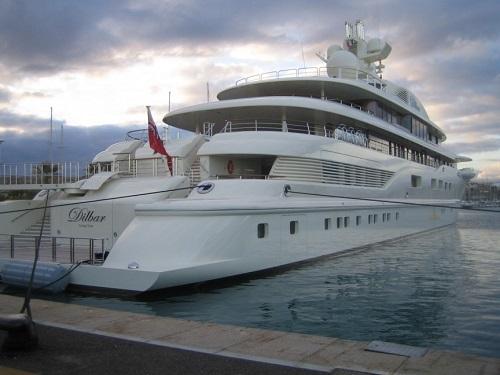Top 10 siêu du thuyền đẳng cấp nhất thế giới