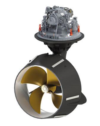 Các hệ thống đẩy tinh vi cho nhiều loại tàu thủy