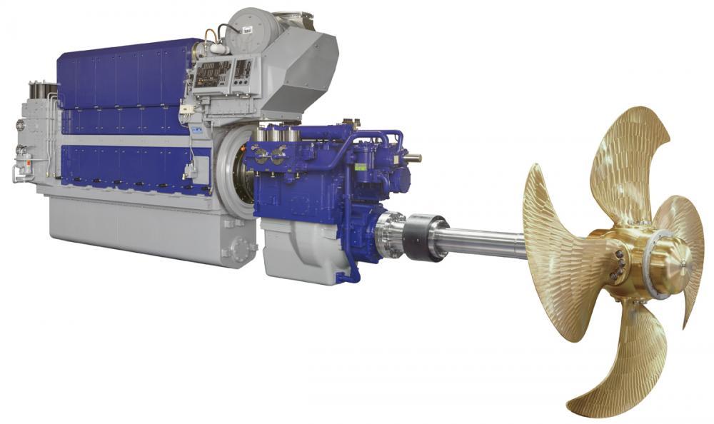 Các loại động cơ đẩy tàu thủy trên thế giới