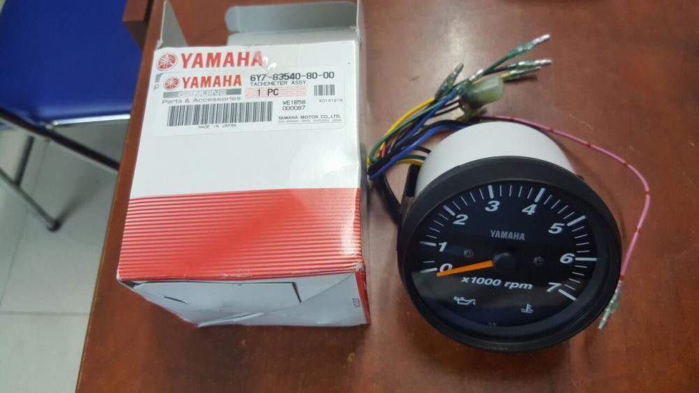 Phụ tùng động cơ máy thủy cano Yamaha: Đồng hồ đo vòng tua, ben, tốc độ
