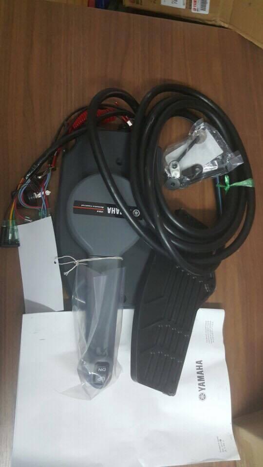 Phụ tùng động cơ máy thủy cano Yamaha: hộp điều khiển remote cano yamaha 200hp