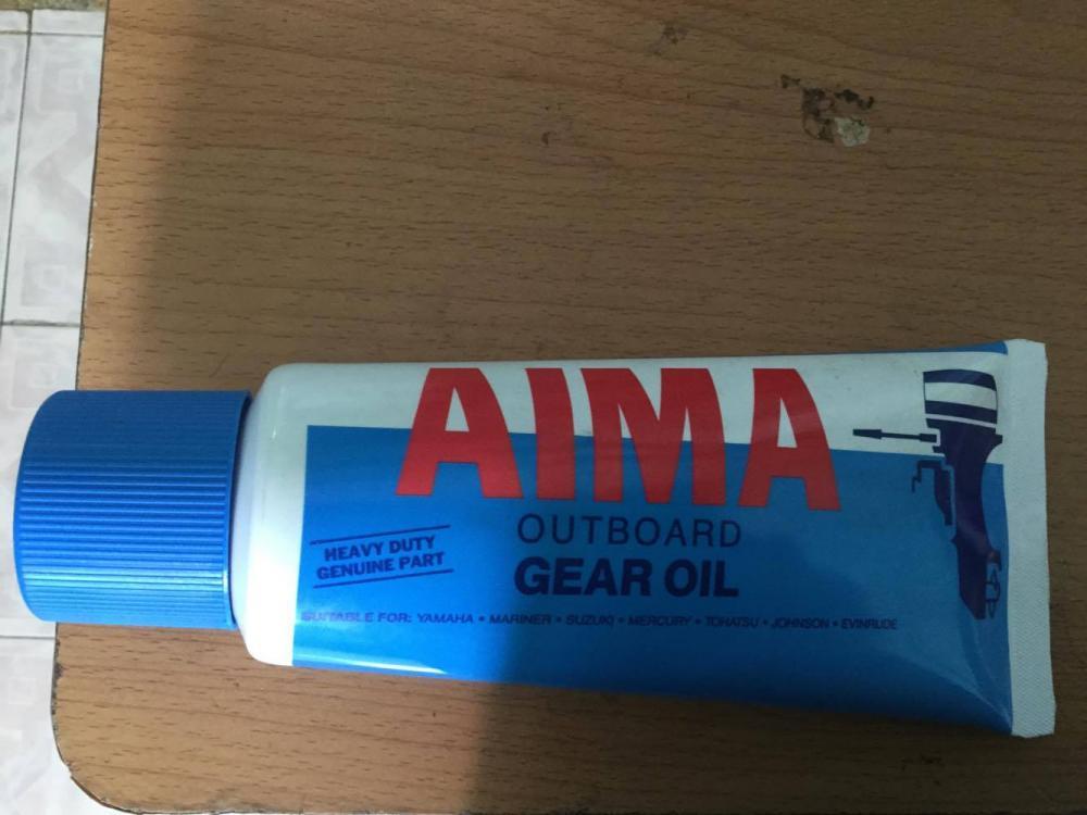 Phụ tùng động cơ máy thủy cano Yamaha: nhớt hộp số cano yamaha 2 thì
