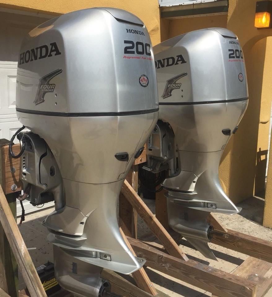 Động cơ máy xuồng, cano, máy thủy gắn ngoài Honda, Tohatsu